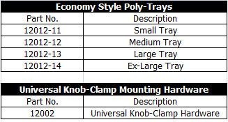 Innovative Concepts Economy Style Poly-Trays