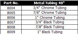 Innovative Concepts Metal Tubing