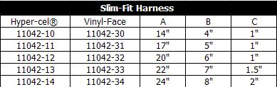 Slim Fit Harness Table